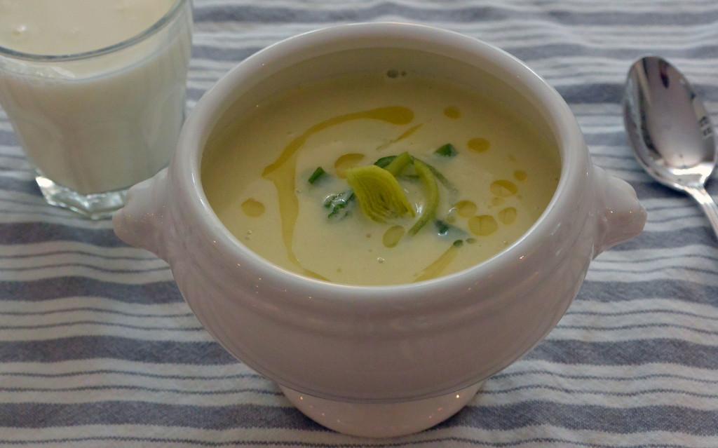 Potatis-Purjolokssoppa